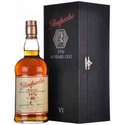 JANUARY SALE - Glenfarclas 40 Year Old 6th Release Limited Edition Whisky- 70cl 43%