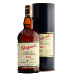 Glenfarclas 25 Year Old Single Malt Scotch Whisky - 70cl 43%