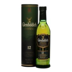 Glenfiddich 12 Year Old Single Malt Scotch Whisky - 20cl 40%