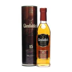 Glenfiddich 15 Year Old Single Malt Scotch Whisky - 20cl 40%