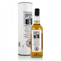Kilkerran 8 Year Old Cask Strength 2018 Edition Single Malt Whisky - 70cl 56.5%