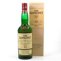 Glenlivet 12 Year Old Single Malt Scotch Whisky - 70cl 40%
