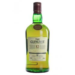 Glenlivet 12 Year Old Single Malt Scotch Whisky - 1.75L 40%
