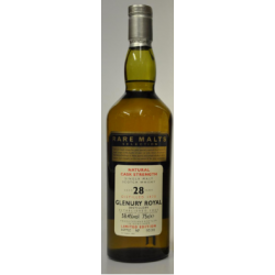 Glenury Royal 28 Year Old 1970 Rare Malt Selection Whisky - 70cl 58.4%
