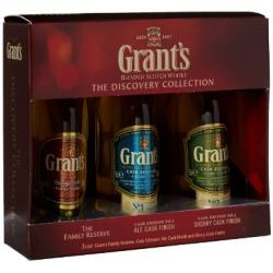 Grant's Triple Pack - 3x5cl Miniatures