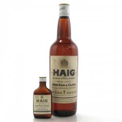 Haig Gold Label 1960s including Miniature Blended Scotch Whisky