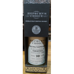Tomintoul Hepburns Choice Tomintoul 10 Year Old  - 20cl 46%
