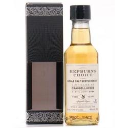Tomintoul Hepburns Choice Craigellachie 8 Year Old - 20cl 46%