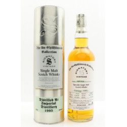 Imperial 19 Year Old 1995 Signatory Vintage Single Malt Scotch Whisky - 70cl 46%