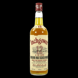 Inchgower 12 Year Old Deluxe Malt Scotch Whisky - 75cl 43%