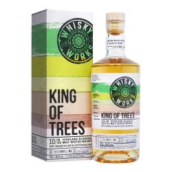 Whisky Works King of Trees 10 Year Old Malt Scotch Whisky - 70cl 46.5%
