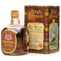 Kings Ransom Round the World 90 Proof 4/5 Quart Blended Scotch Whisky - 75cl 47%