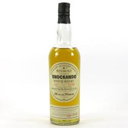 Knockando 12 Year Old 1962 Single Malt Speyside Whisky - 70 Proof