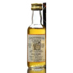 Knockando 1974 Connoisseurs Choice Miniature - 5cl 40%