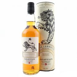 Lagavulin 9 year old Game of Thrones House Lannister - 46% 70cl