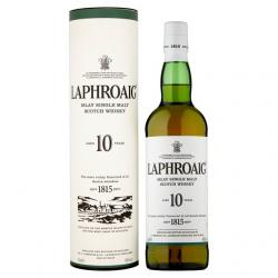 Laphroaig 10 Year Old - 70cl, 40%