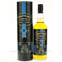 Laphroaig 1990 12 Year Old Cadenhead Single Malt Scotch Whisky - 70cl 60.2%
