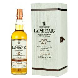 Laphroaig 27 Year Old Single Malt Whisky - 70cl 41.7%