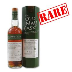 Old Malt Cask Laphroaig 21 Year Old 1987 Single Malt Scotch Whisky - 70cl 50%