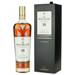 Macallan 18 Year Old Sherry Oak Single Malt Scotch Whisky - 70cl 43%