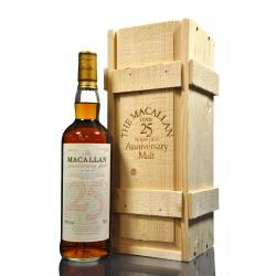Macallan 25 Year Old 1968 Anniversary Single Malt Scotch Whisky - 70cl 43%