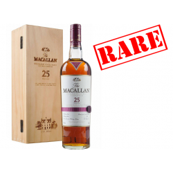 Macallan 25 Year Old Sherry Oak Single Malt Scotch Whisky 70cl 43%