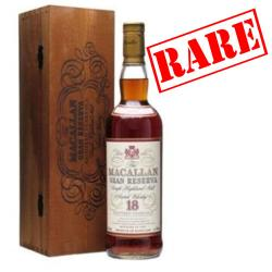 Macallan 18 Year Old 1979 Gran Reserva Single Malt Scotch Whisky - 70cl 40%