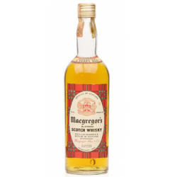 Macgregors Guaranteed 4 Year Old Blended Scotch Whisky - 75cl 40%