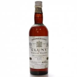 Macphersons Cluny 1960s Scotch Whisky - 43% 75cl