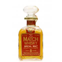 Match 8 Year Old Special Malt Whisky in Decanter - 75cl 43%