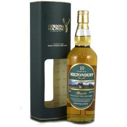 Miltonduff 10 Year Old Single Malt Scotch Whisky - 70cl 40%