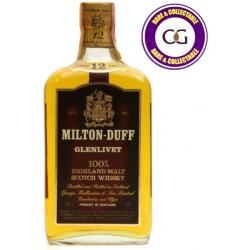 Miltonduff Glenlivet 12 Year Old Single Malt Scotch Whisky - 75cl 43%