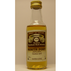 North Port Brechin 1970 Connoisseurs Choice Distilled Whisky Miniature - 5cl 40%