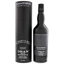 Oban Bay Reserve Game of Thrones Nights Watch - 43% 70cl