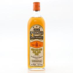 Bushmills 1970s Irish Whiskey - 70 Proof 26 2/3 FL OZ