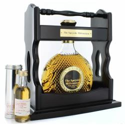 Speyside Millenium Crystal Decanter in Tantalus & Miniature Whisky - 70cl 40%