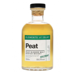 Peat Full Proof Elements of Islay Single Malt Scotch Whisky - 50cl 59.3%