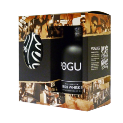 Pogues Irish Whiskey Gift Pack - 70cl Bottle with T-Shirt