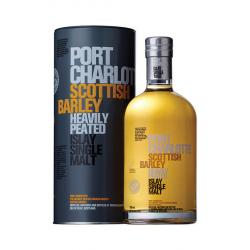 Bruichladdich Port Charlotte Heavily Peated Scottish Barley Whisky - 70cl 50%