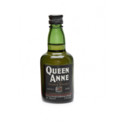 Queen Anne Scotch Whisky Miniature - 5cl 70 Proof