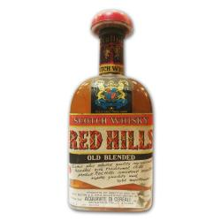 Red Hills 1960s Scotch Whisky - 75cl 43%
