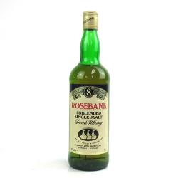 Rosebank 8 Year Old 1980s Single Malt Scotch Whisky - 70cl 40%
