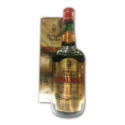 Hedges & Butler 5 Year Old Royal Malt 1980s Whisky - 75cl 43%