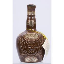 Royal Salute 21 Year Old Brown Spode Decanter - 75cl 40%