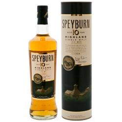 Speyburn 10 Year Old Single Malt Scotch Whisky - 70cl 40%
