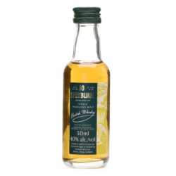 Speyburn 10 Year Old Single Malt Scotch Whisky - 5cl 40%