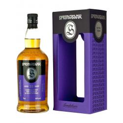 Springbank 18 Year Old 2018 Edition Single Malt Scotch Whisky - 70cl 46%
