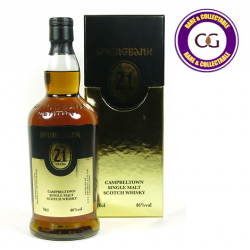 Springbank 21 Year Old 2013 Vintage Release Whisky - 70cl 46%