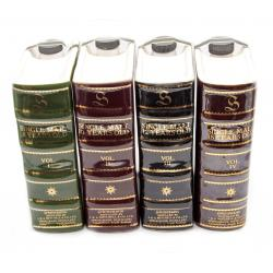 Springbank Book Decanters Vol. I - IV - 4x75cl 43%