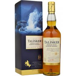 Talisker 18 Year Old Single Malt Scotch Whisky - 70cl 45.8%